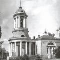 Колокольня Спасской церкви в Усове, фото ГНИМА