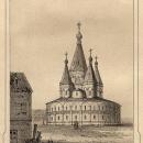 Древний шатровый собор в Старице