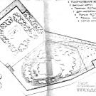Успенский Святогорский монастырь, архивный план