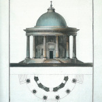 Церковь Вмц. Екатерины на Валдае (чертеж пред. А.Н. Львова)