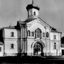 Валдайский Иверский монастырь. Надвратная церковь митрополита Филиппа. Фото до 1967г.