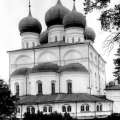 Валдайский Иверский монастырь. Успенский собор. Фото до 1917г.