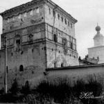 Валдайский Иверский монастырь. Никоновская башня. Фото XIX в.
