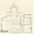 Великий Новгород. Софийский собор, разрез