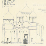 Великий Новгород. Софийский собор, фасад