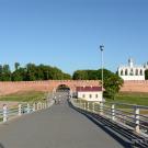 Великий Новгород. Вид на Кремль