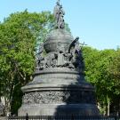 Великий Новгород. Памятник «Тысячелетие России»