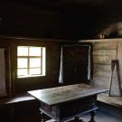 Музей деревянного зодчества Витославлицы, фрагмент экспозиции одной из изб