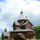 Музей деревянного зодчества Витославлицы, церковь Рождества Богородицы из с. Перёдки