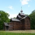 Музей деревянного зодчества Витославлицы, церковь Николая Чудотворца из д. Мякишево