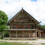 Музей деревянного зодчества Витославлицы, изба