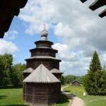 Музей деревянного зодчества Витославлицы, церковь Николая Чудотворца из д. Высокий Остров