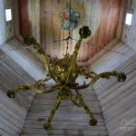 Музей деревянного зодчества Витославлицы, церковь Николая Чудотворца из д. Высокий Остров, фрагмент иньерьера