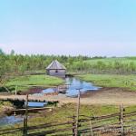 Волговерховье. Часовня над истоком Волги. Фото С.М. Прокудин-Горский