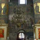 Иосифо-Волоцкий монастырь, интерьер Успенского собора