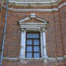 Волоколамский кремль Никольский собор (декоративное обрамление окна)