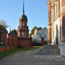 Волоколамский кремль башня ограды