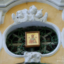 Усадьба Вороново, фрагмент декора церкви