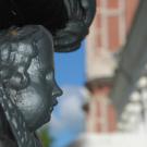 Храмовый комплекс в Бронницах. Статуя ангела над могилой декабриста И.И. Пущина