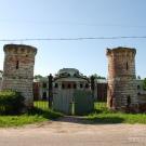 Усадьба Ярополец Чернышевых башни парадного въезда