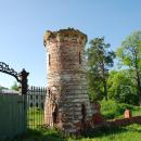 Усадьба Ярополец Чернышевых башня парадного въезда