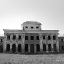 Усадьба Ярополец Чернышевых дворец со стороны парадного двора