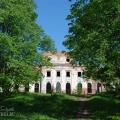 Усадьба Ярополец Чернышевых дворец со стороны парка
