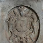Усадьба Ярополец Чернышевых, фрагмент надгробия