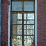 Усадьба Ярополец Гончаровых, главный дом фрагмент фасада
