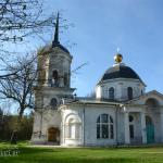 Усадьба Ярополец Гончаровых, церковь Иоанна Предтечи