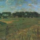 В.К. Бялыницкий-Бируля, Вид на деревню и усадьбу Ясная Поляна, 1928
