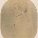 Л.Н. Толстой – студент. Неизв. художник пер. пол. XIX в., не позднее 1847 г.