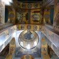 Георгиевский собор Юрьева монастыря, фрагмент росписи центрального нефа
