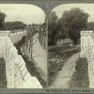 Замок Шереметевых в Юрино. Каменная стена вокруг дворца