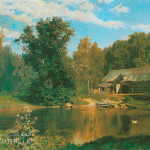 Пруд в Абрамцеве В.Д. Поленов