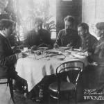 Усадьба Демьяново. Семья В.И. Танеева за столом.  Фото нач. XX в.