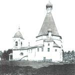 Городня, Воскресенская церковь. Открытка.