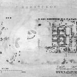 Усадьба Никитское, план усадьбы
