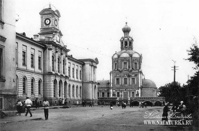 Усадьба Петровское-Разумовское, архивное фото