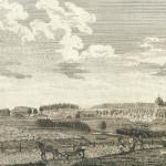 Вид усадьбы Сенницы под Зарайском. 1800-е гг. Гравюра А. Свешникова