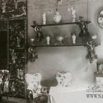 Усадьба Сенницы, гостиная в доме Келлеров. Фото нач. XX в.