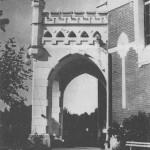 Усадьба Шелковка. Парадный подъезд главного дома имения, 1905