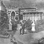 Усадьбе Шелковка. Сад перед барским домом, 1911