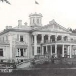 Усадьба Валуево, дворец со стороны парадного двора
