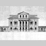 Усадьба Зендиково, главный фасад дворца