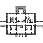 Усадьба Зендиково, план дворца