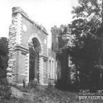 Усадьба Знаменское-Губайлово. Готический руинный павильон. Фото 1930-х гг.