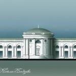 Усадьба Черкизово, оранжерея (реконструкция ASG)
