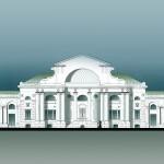 Усадьба Черкизово, дворец (реконструкция ASG)