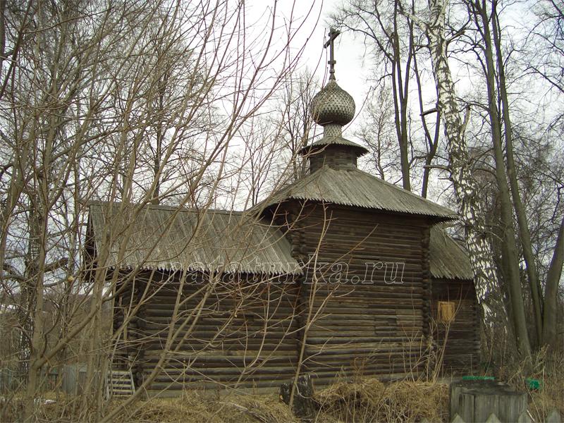 Никольская церковь в усадьбе Васильевское